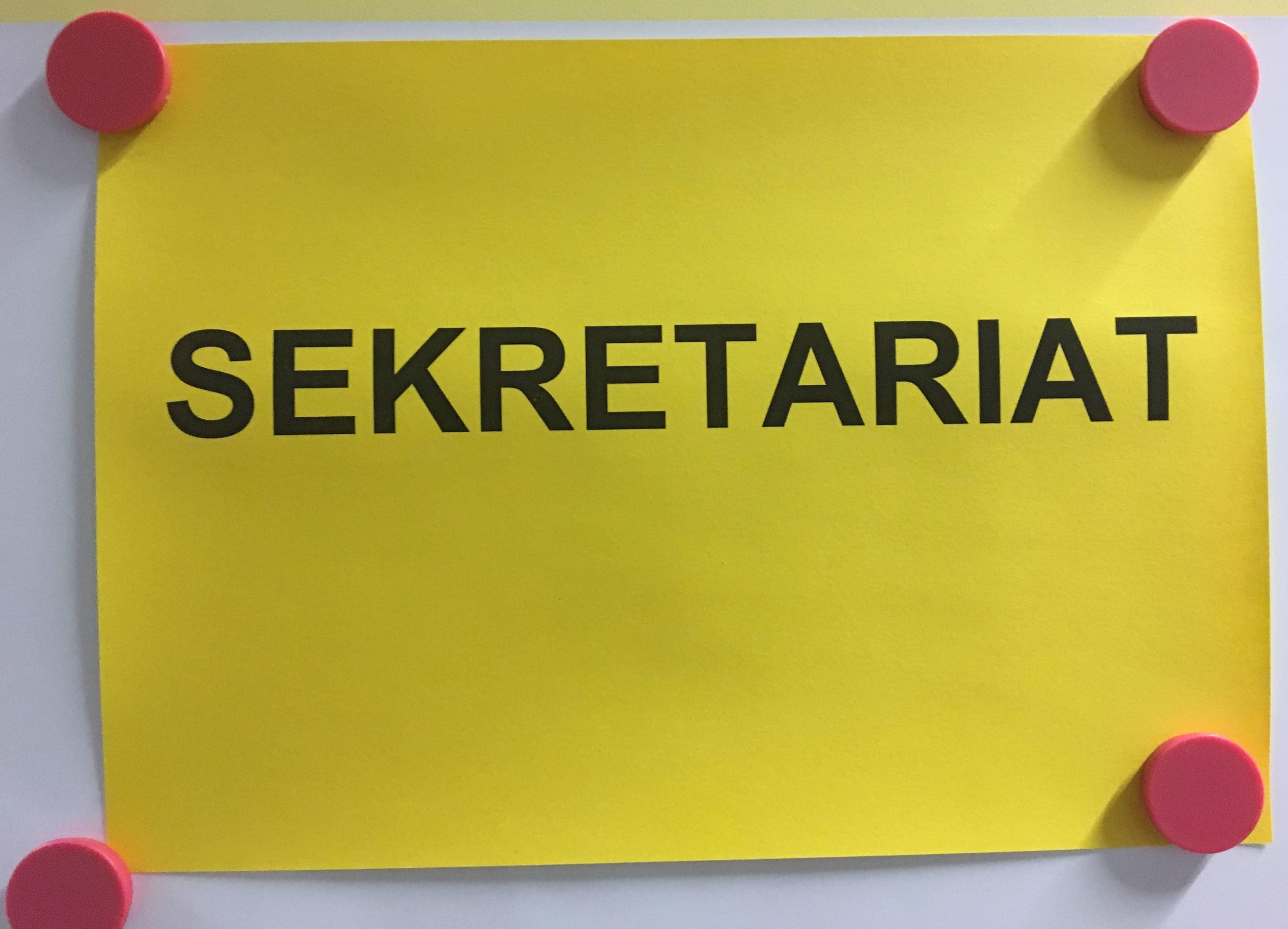 Sekretariat der Rosenmaarschule